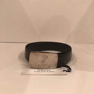 Vintage Versace leather belt